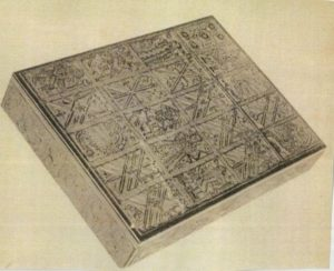 大明萬暦かるた硯箱