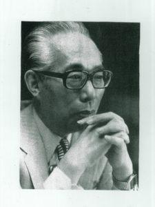 塚本邦雄・肖像(昭和59年、『王朝百首』より)