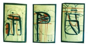 古型「入の吉」の絵札
