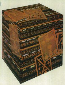 うんすんかるた蒔絵重箱