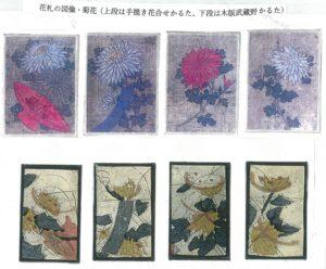 花札の菊花